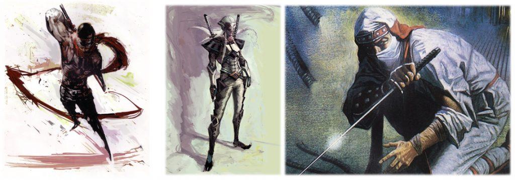 Shinobi Protagonists