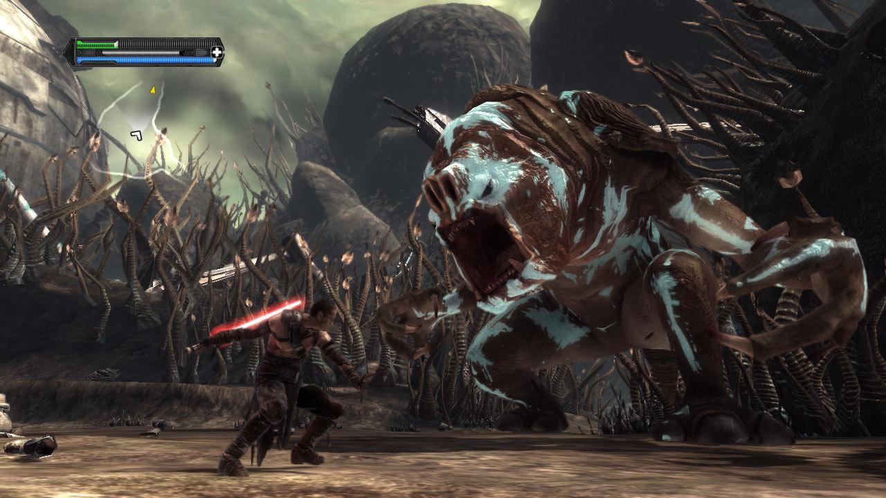 Force Unleashed Rancor